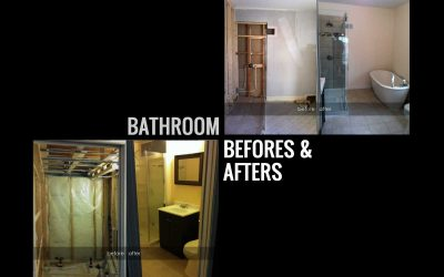 Bathroom Before and Afters