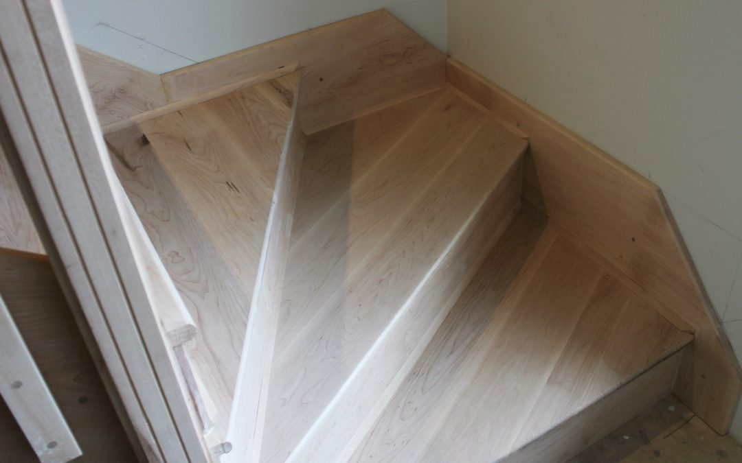 Custom detail on stairs