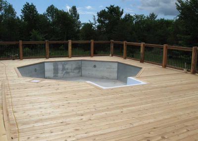 Custom decks by Trinity Custom Carpentry