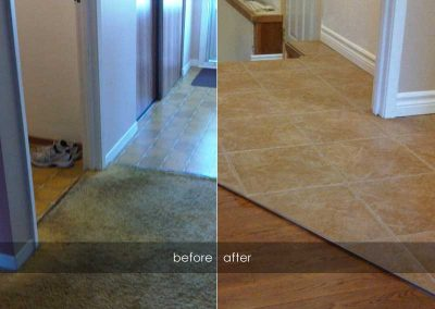 Flooring - before and afters