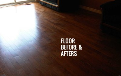 Floors – Before and After